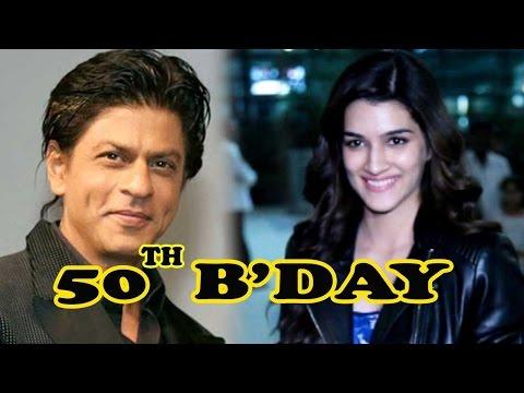 Kriti Sanon Reveals Shah Rukh Khan's 50th Birthday