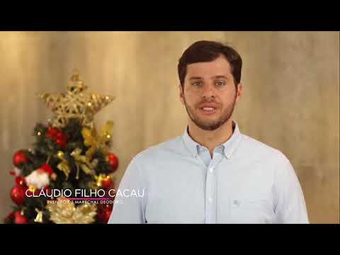Prefeito cacau deseja aos Deodorenses um feliz natal e próspero ano novo