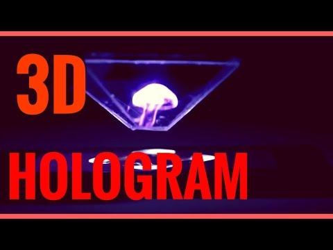Turn your Smartphone into a 3D Hologram | HD