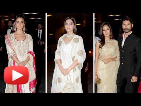 Sonam Kapoor, Alia Bhatt,Shahid Kapoor Celebs Masa