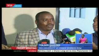 Friday Briefing: NCIC grilled Elgeyo Marakwet governor Tolgos over incitement allegations, 21/10/16