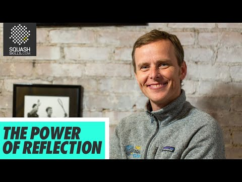 Squash tips - Peter Nicol's mental approach - Reflection