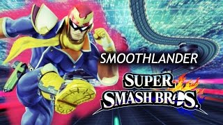 """Smoothlander"" custom equipment frame comparison with Captain Falcon"