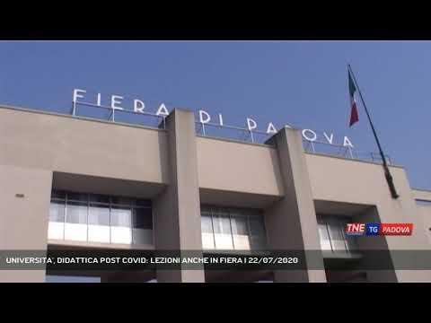 UNIVERSITA', DIDATTICA POST COVID: LEZIONI ANCHE IN FIERA | 22/07/2020