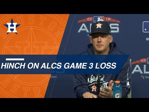 Video: ALCS Gm3: Astros on Game 3 loss, going down 2-1