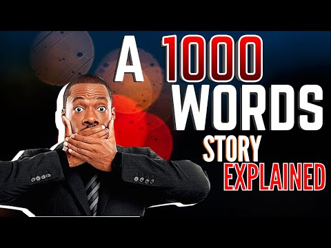 A Thousand words(2012) Full movie explained in HINDI| Full movie explanation in HINDI
