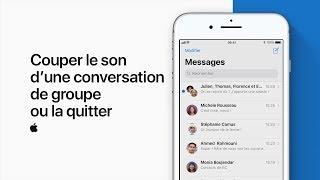 Video Couper le son d'une conversation de groupe ou la quitter — Assistance Apple MP3, 3GP, MP4, WEBM, AVI, FLV Mei 2018