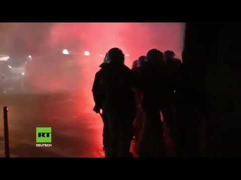 Neapel: Wie im Straßenkrieg -