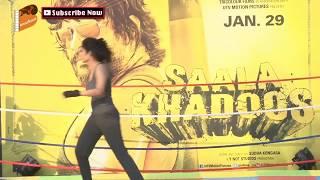 Video Hot Ritika Singh at Promotion of Film Saala Khadoos MP3, 3GP, MP4, WEBM, AVI, FLV April 2018