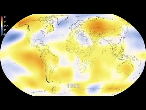 Six Decades of a Warming Earth