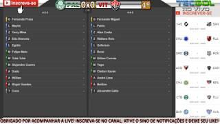 Clique no tempo abaixo para ouvir a narração dos gols de Palmeiras 4x2 Vitória pela 14ª rodada do Brasileirão Série A 2017!