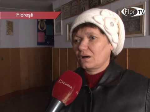 Întîlnire cu persoanele nevăzătoare din raionul Florești