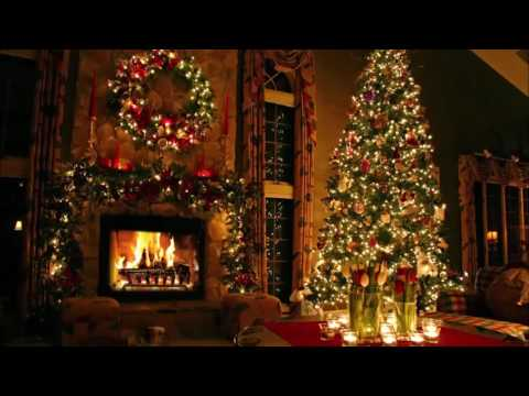 Classic Christmas Music with a Fireplace and Beautiful Background (Classics) (2 hours) (2018)