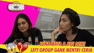 Video LUNA MAYA & AYU DEWI LEFT GROUP GANK MENTRI CERIA!!! MP3, 3GP, MP4, WEBM, AVI, FLV Desember 2018