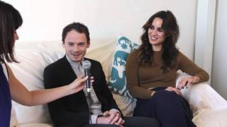 Inconvenient Interviews w/Risa: Sitting Down with Anton Yelchin and Bérénice Marlohe | HelloGiggles