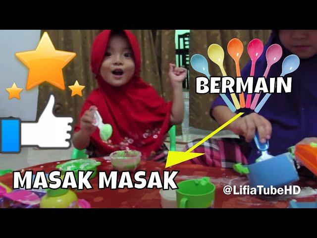 3 mainan anak kitchen set masak masakan bel for Kitchen set video song