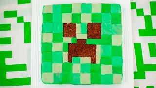 Como fazer um bolo creeper (Minecraft)