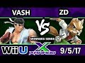 S@X 218 - Vash (Ryu) Vs. InC   ZD (Fox) - SSB4 Winners Semis - Smash for Wii U. - Smash 4