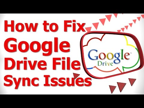 how to sync to google drive