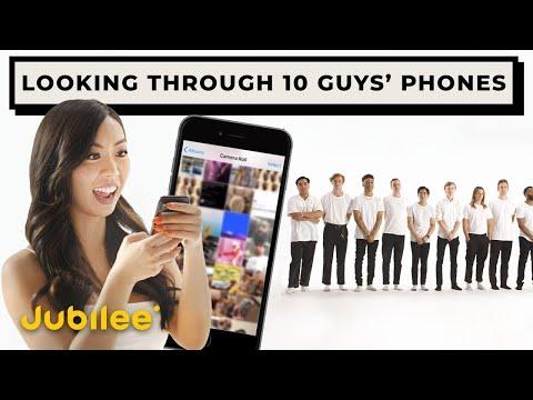 10 vs 1: Blind Dating 10 Guys Through Their Phones