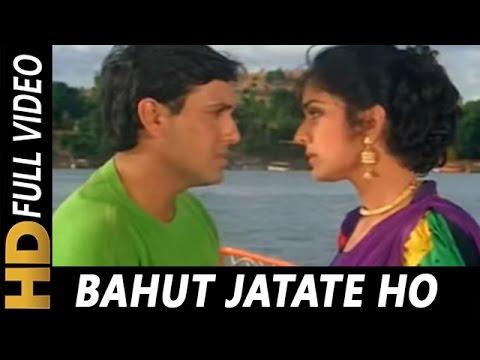 Video Bahut Jatate Ho Chah Humse   Alka Yagnik, Mohammad Aziz   Aadmi Khilona Hai 1993 Songs   Govinda download in MP3, 3GP, MP4, WEBM, AVI, FLV January 2017