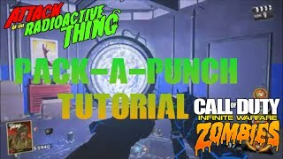 Pack-A-Punch Tutorial on Attack Of The Radioactive Thing - Infinite Warfare Zombies DLC 3 My Twitter: https://twitter.com/Brando212486