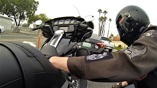 6. 2017 Harley-Davidson Ultra Limited (FLHTK) Review & Test Ride │Milwaukee 8 Engine