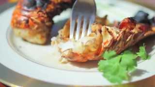 Queues de homards grillées
