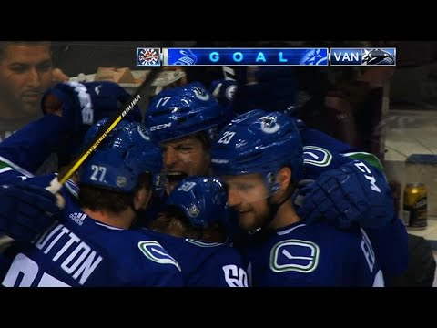 Video: Nic Dowd scores 1st with Canucks against former team Kings