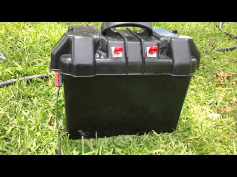 Prepper Power – Homemade Portable Solar Generator