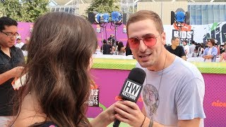 Subscribe to Hollywire for The Latest Pop and Music News Updates!  http://bit.ly/Sub2HotMinuteWe ran into the guys from Kendall Schmidt From Heffron Drive who talked about his upcoming music as well as just how confused he is about Calvin Harris' stage name.Visit our website for all things celebrity  http://www.hollywire.com/Follow Hollywire!  http://bit.ly/TweetHollywireSend Carly a Tweet!  https://twitter.com/carlyhenderson_Follow Carly on Instagram!  https://www.instagram.com/carlyhenderson_/?hl=en