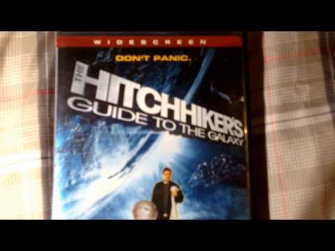 HITCHHIKERS GUIDE TO THE GALAXY... BAILEY, DAVIS, BEY, ELLIOT... CLASSIC.. BOOK / DVD