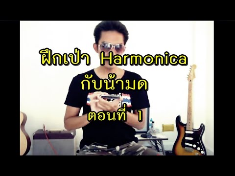ฝึกเป่า Harmonica กับน้ามด ตอนที่ 1