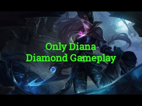 Diana Only Diamond Gameplay Dark Waters Splash Hype! [NA] Patch 8.10