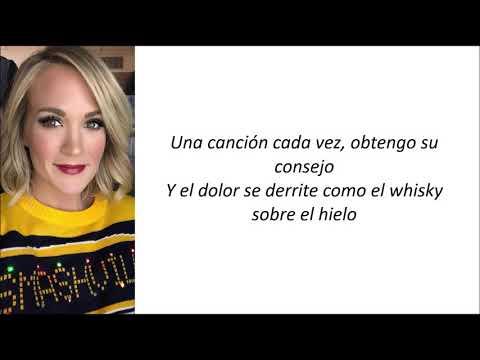 Carrie Underwood - Ghosts On The Stereo (Letra en español)