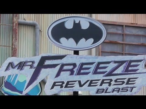Video Mr. Freeze: Reverse Blast Review HD Six Flags Over Texas download in MP3, 3GP, MP4, WEBM, AVI, FLV January 2017