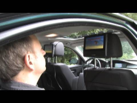 Mattings Warentest - Portable Videoplayer im Auto