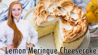 Triple Lemon Meringue Cheesecake by Tatyana's Everyday Food