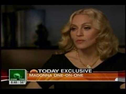 Madonna Today Show April 25, 2008