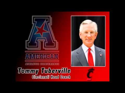 teleconference - Cincinnati Head Coach Tommy Tuberville speaks at the American Athletic Conference's weekly FB teleconference.