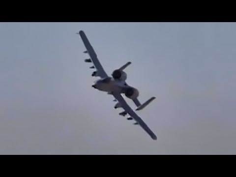 CSAR Training • A-10 Warthogs Fly Close Air Support