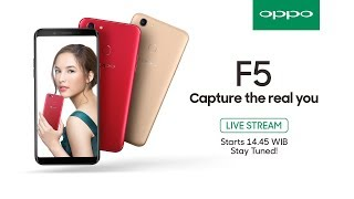 Video Livestreaming | OPPO F5 Grand Launch Event MP3, 3GP, MP4, WEBM, AVI, FLV November 2017