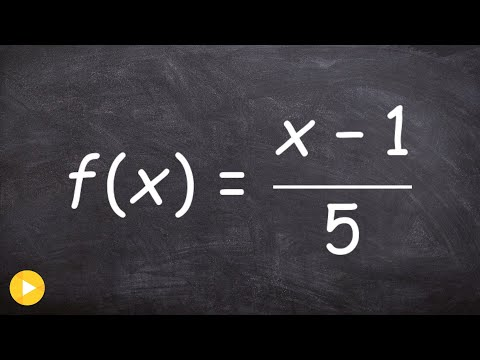 18 find the inverse of the function informally