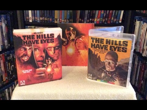 The Hills Have Eyes BLU RAY UNBOXING & Review - Arrow Video / Limited Edition