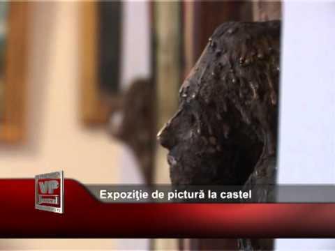 Expoziţie de pictură la castelul Iulia Haşdeu