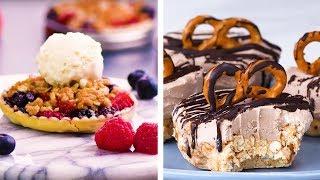 Video Salty, Sweet, Crunchy, and Petite! Yummy Bite Sized Dessert Ideas! | DIY Dessert Hacks by So Yummy MP3, 3GP, MP4, WEBM, AVI, FLV November 2018