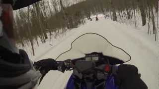 6. 2014 Yamaha SR Viper Test Drive in Gaylord Michigan.