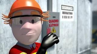 Episódio da série de vídeos sobre segurança no trabalho, da Câmara Brasileira da Indústria da Construção, aborda questões relacionados a choques elétricos. Partes vivas dos fios elétricos expostas, desatenção, falta do uso dos equipamentos de proteção individuais (EPI) e falta de sinalização de segurança estão entre os riscos listados.