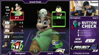 NorCal has more than one player that isn't completely free?? Impossible! Boringman vs Jose V Button Check Grand Finals