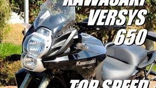 6. KAWASAKI VERSYS 650 - TOP SPEED (HD)
